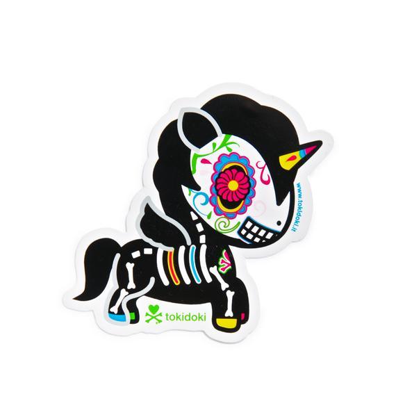 Tokidoki Carmelo Sticker