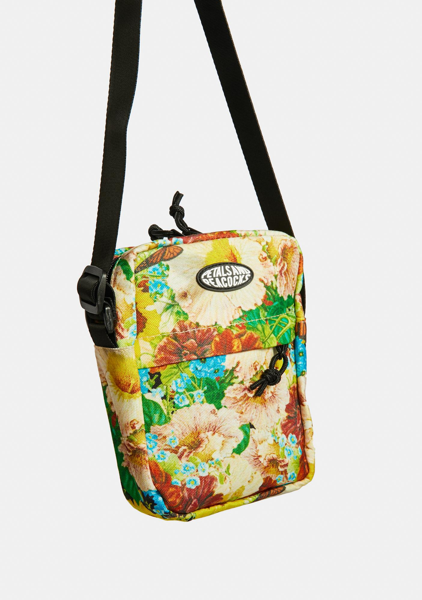Petals and Peacocks Love Always Shoulder Bag