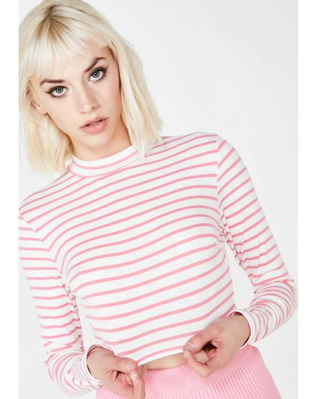 Crazy Lil Thang Stripe Top