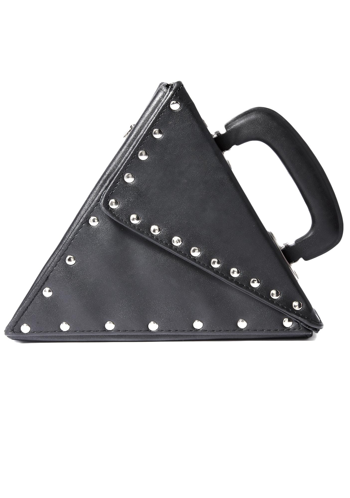 Vintage Triangle Studded Purse
