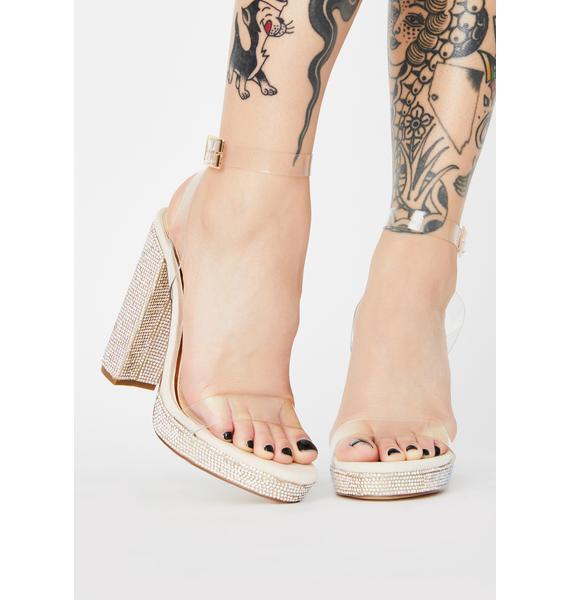 Miss Opulence Rhinestone Heels