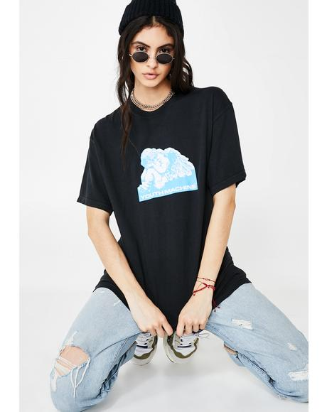 Let Down Graphic Tee