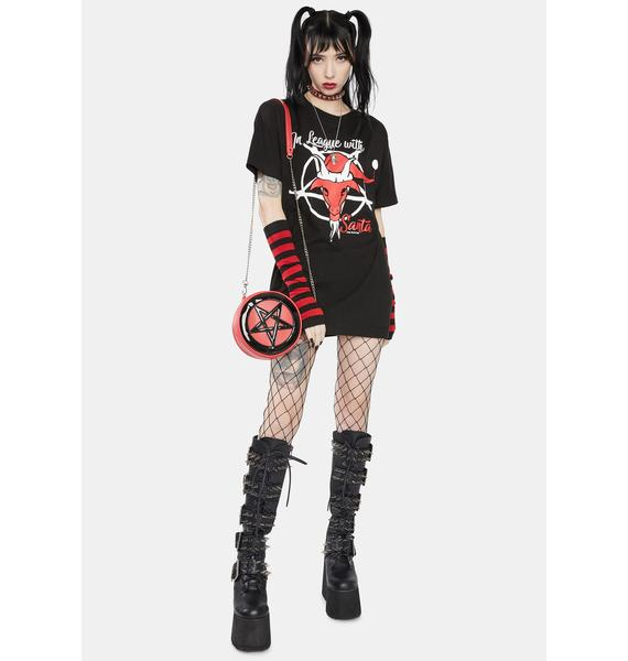 Too Fast In League With Santa Graphic Tee
