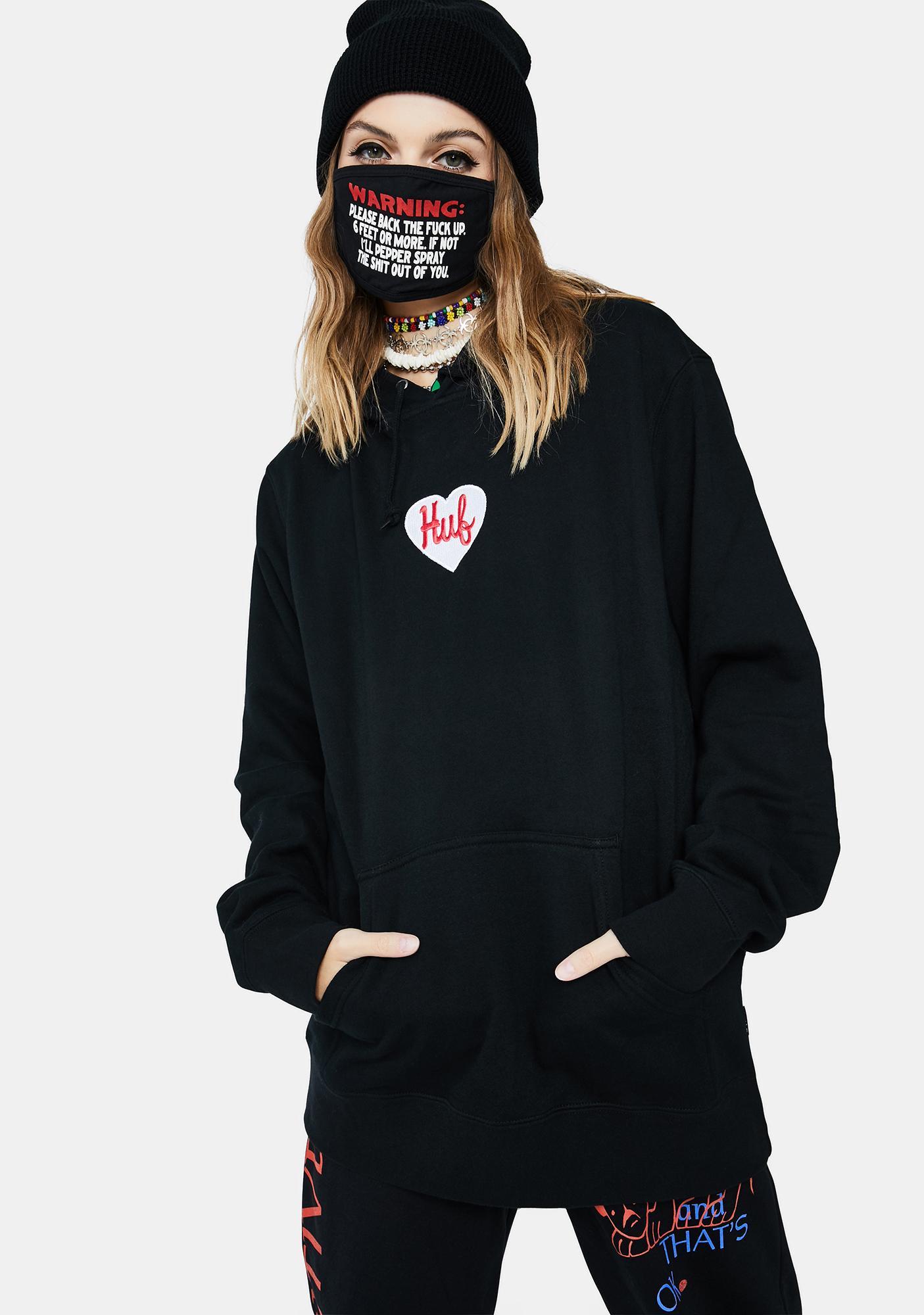 HUF Plastic Heart Pullover Hoodie