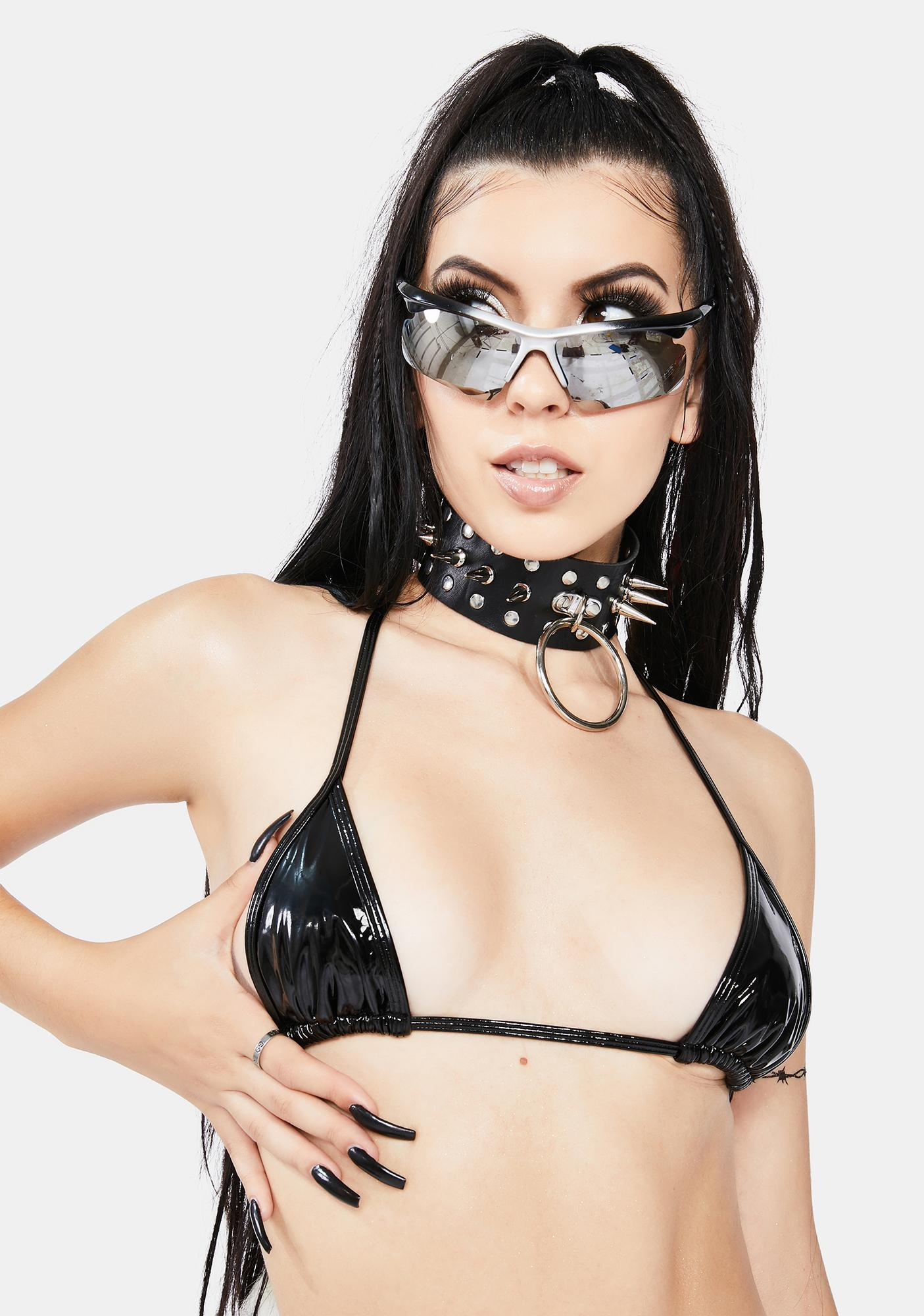 Debutante Intimates Berlin PVC Heaven Sent Bikini Top