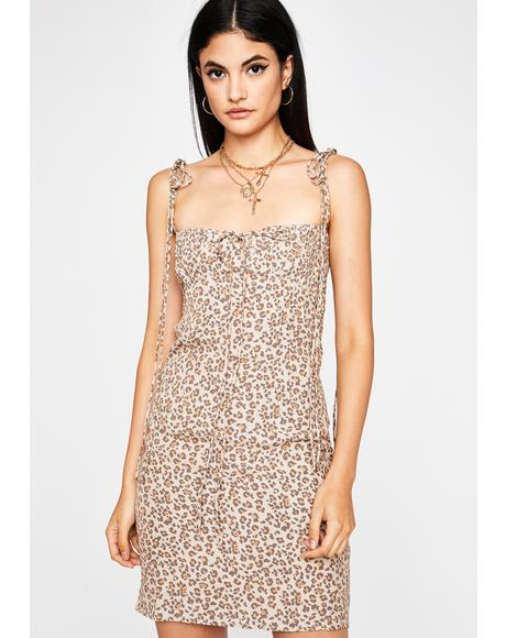 Feline Fantastic Mini Dress