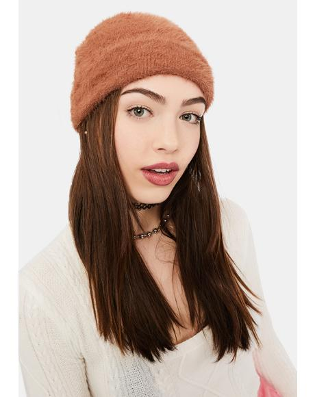 Caramel Warm Feelings Beanie