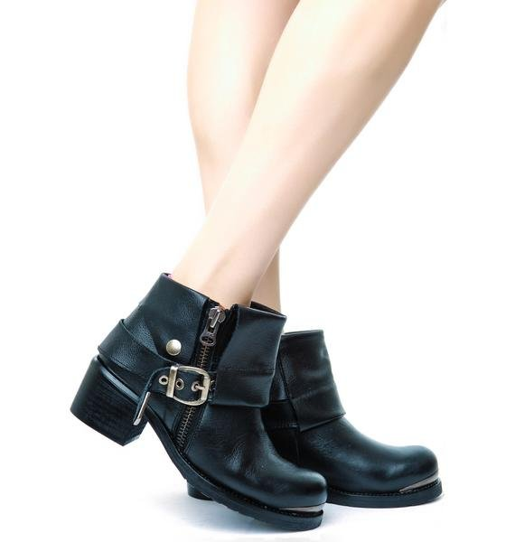 Sixty Seven/MTNG Dakota Floater Ankle Boots