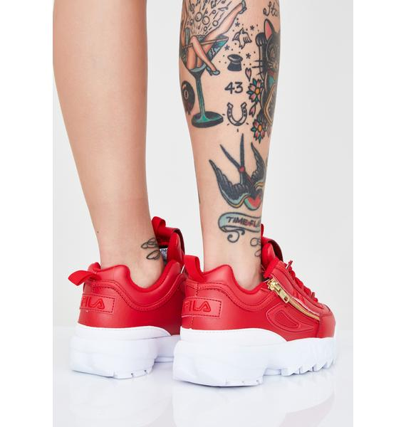 Fila Fire Disruptor II Zipper Sneakers