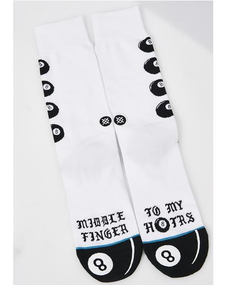H8ters Crew Socks
