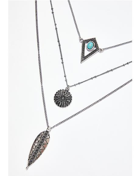 High Desert Bliss Layered Necklace