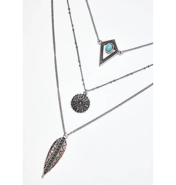 High Desert Bliss Layered Necklace