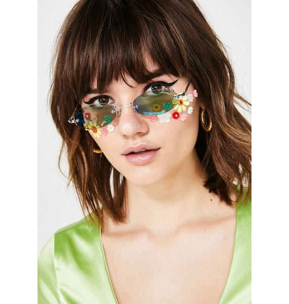 Giant Vintage Gnarly Round Sunglasses