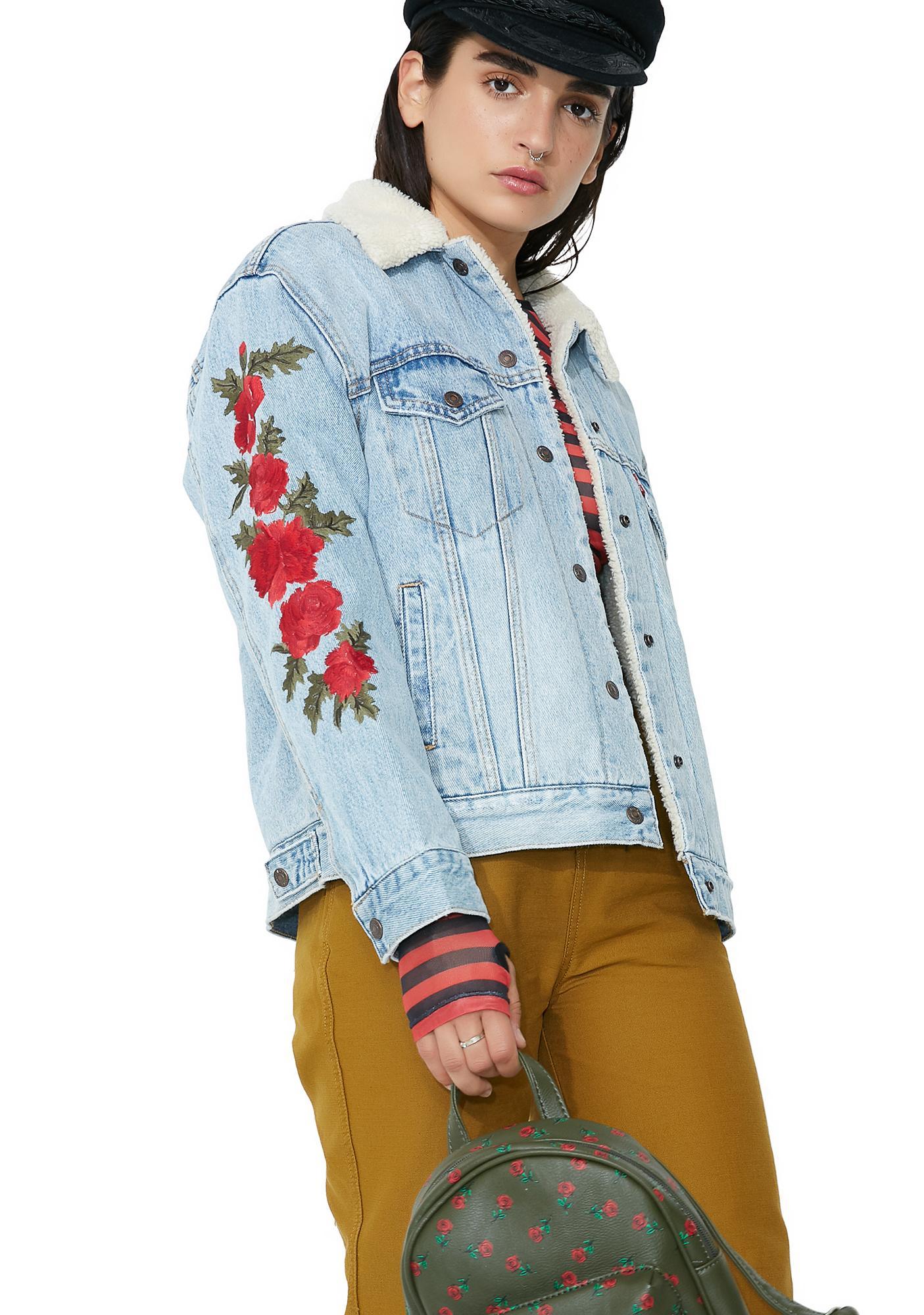 Levis Ex-Boyfriend Sherpa Trucker Jacket