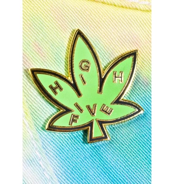 Valley Cruise Press High Five Leaf Pin