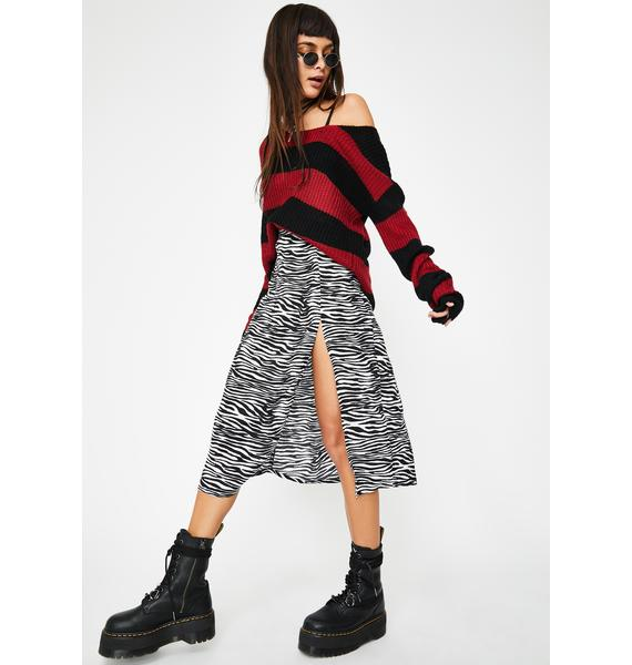 Motel Zebra Saika Skirt