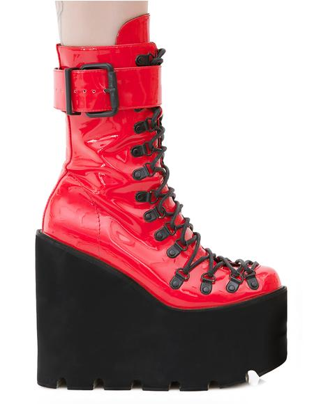 Lacquer Traitor Boots