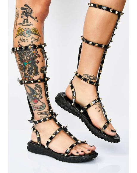 Victorious Vixen Gladiator Sandals