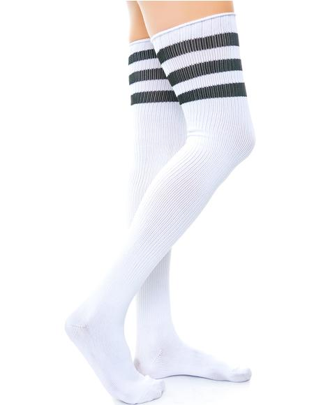 Scoring Big Athletic Thigh Highs