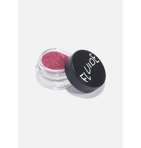 Fluide Pink Biodegradable Loose Glitter