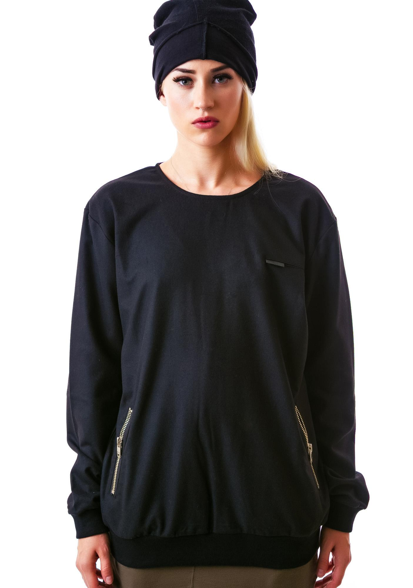 UNIF Zipped Pullover