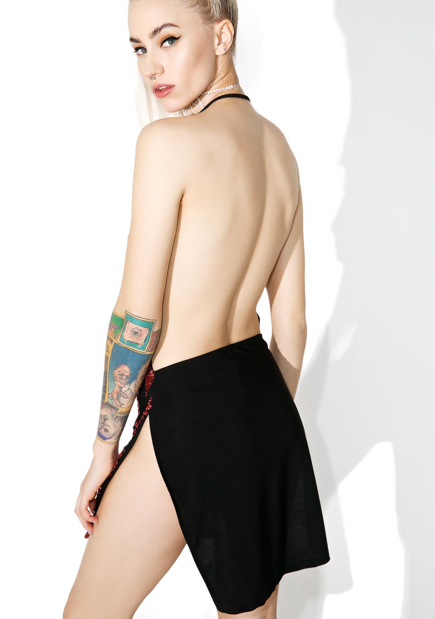 Printed All Nighter Mini Dress