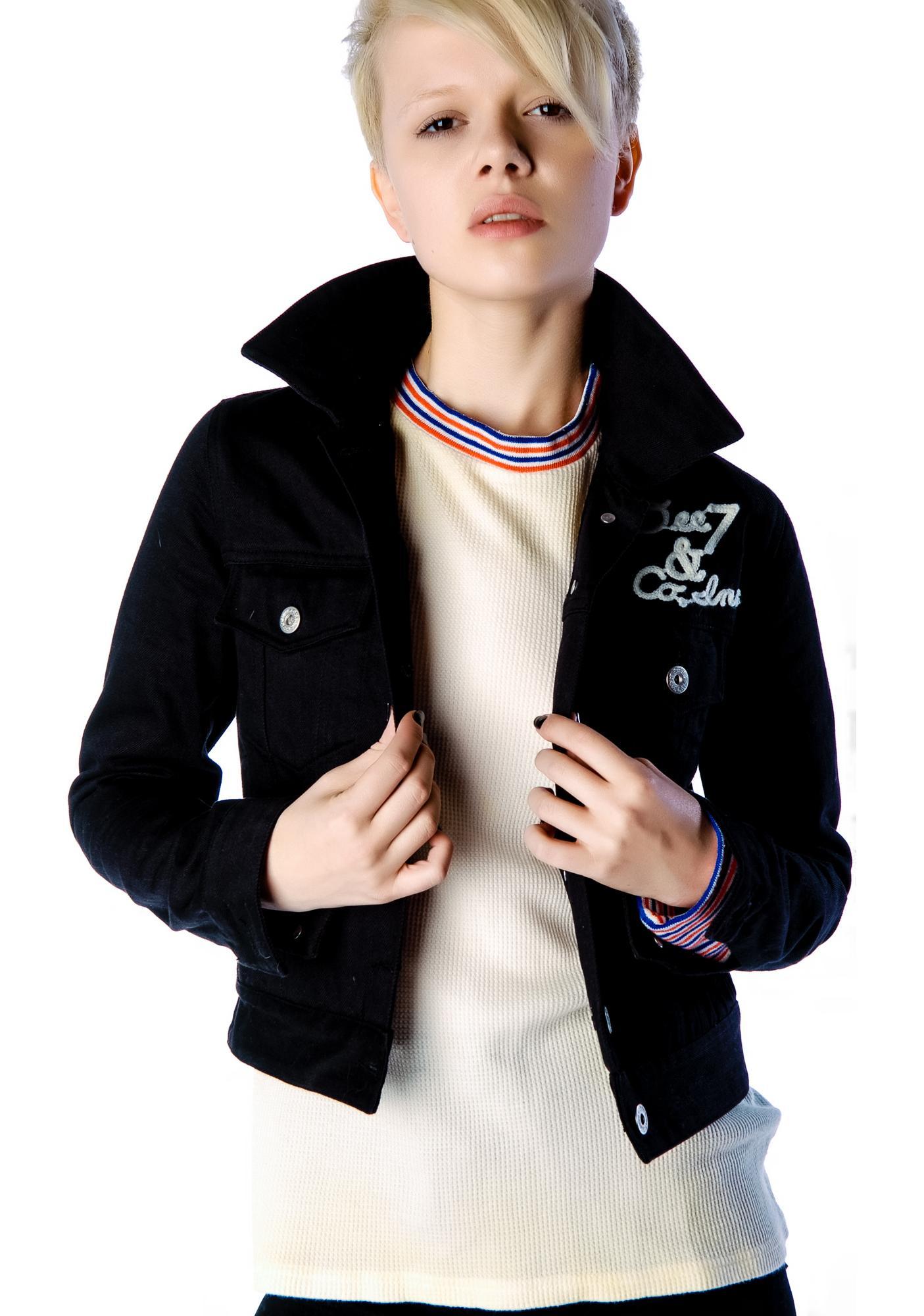 Halfman Romantics LV Needle Jacket