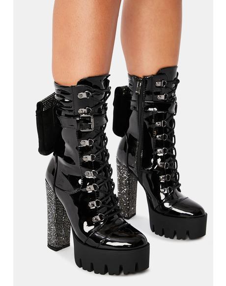 Savannah Combat Boots