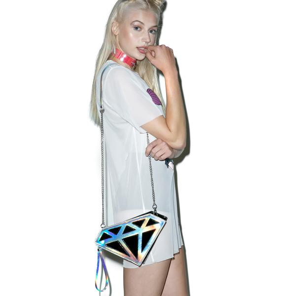 Diamond Crush Clutch