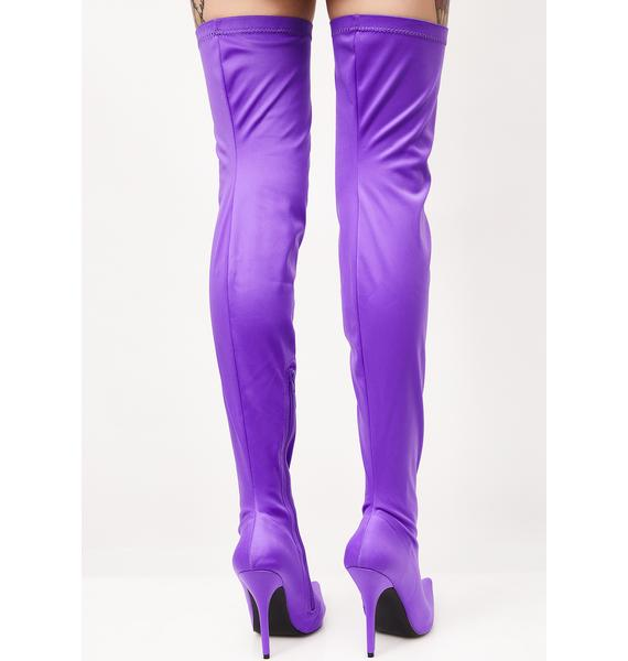 Public Desire Refuge Over The Knee Boots
