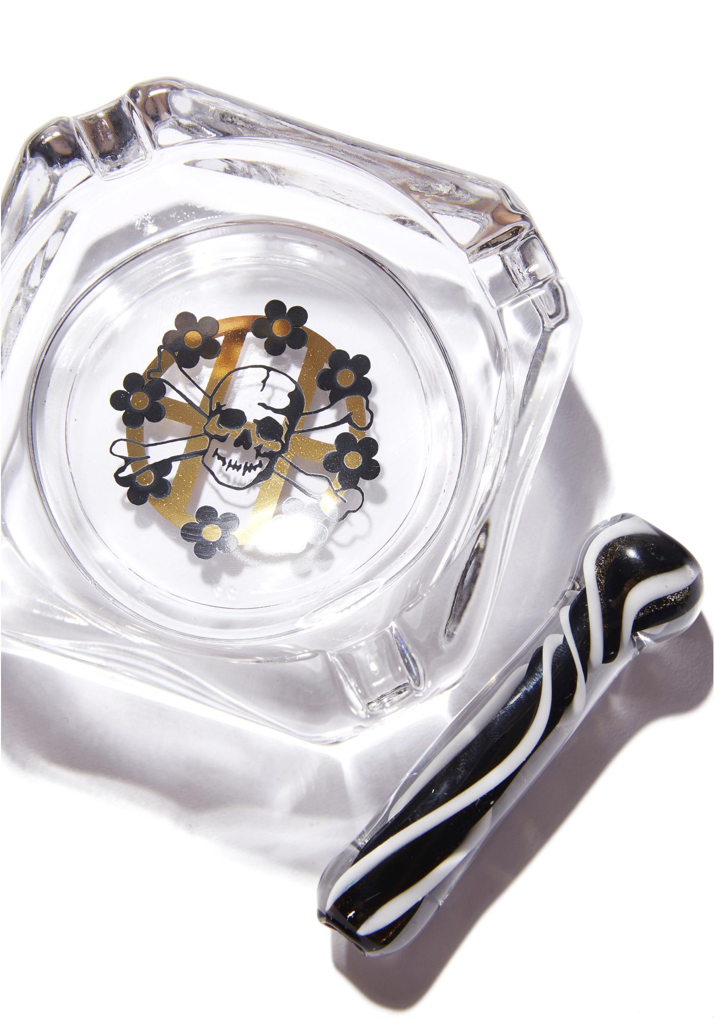 HUF Glass Ashtray