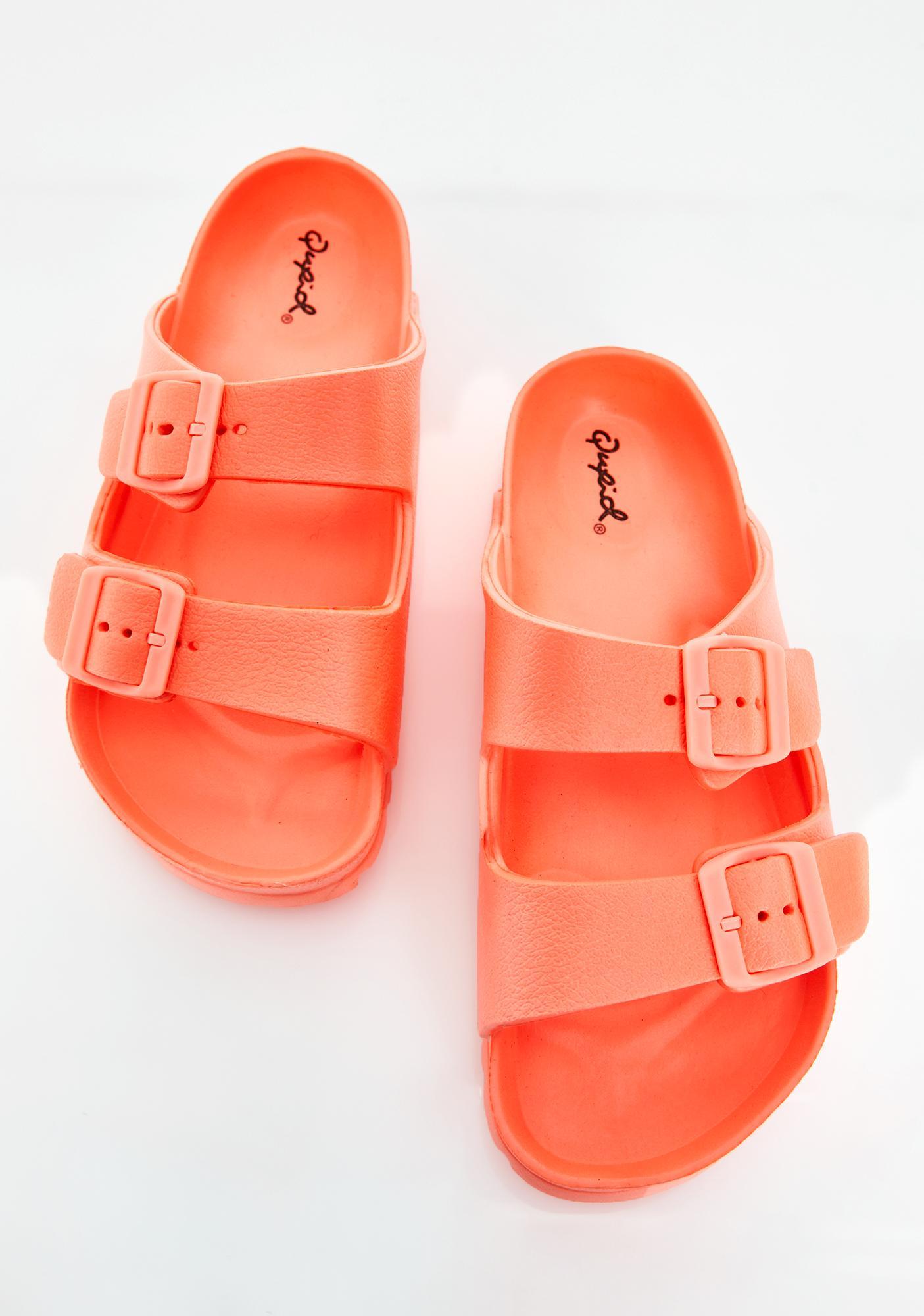 Sweet Electric Beach Buckle Sandals