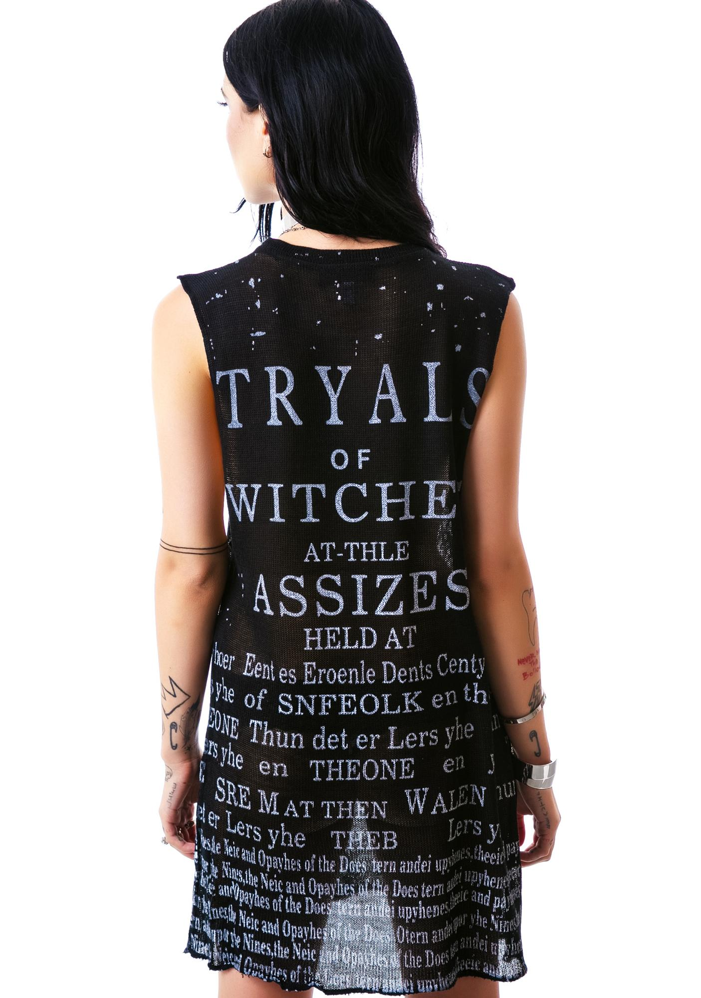 Widow Witch Tryal Top