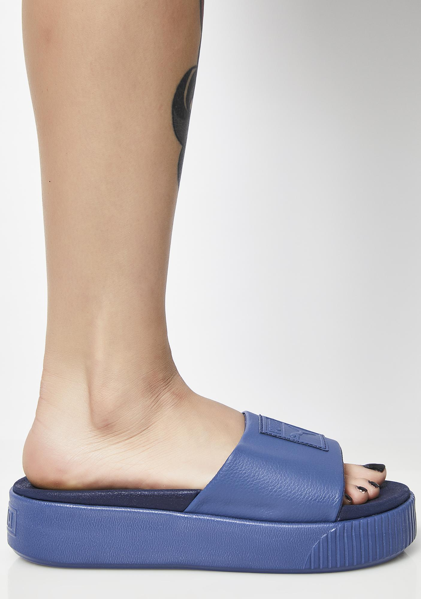 8175e144b5a ... PUMA Indigo Platform Slide EP Sandals