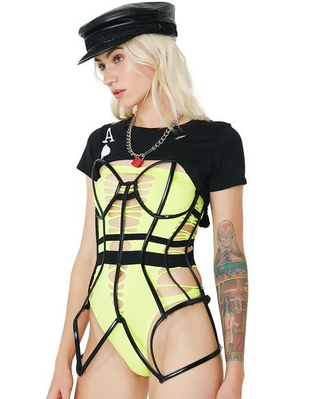 My Prisoner Caged Body Harness