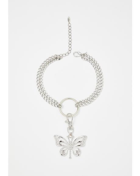 Dream Escape Butterfly Necklace