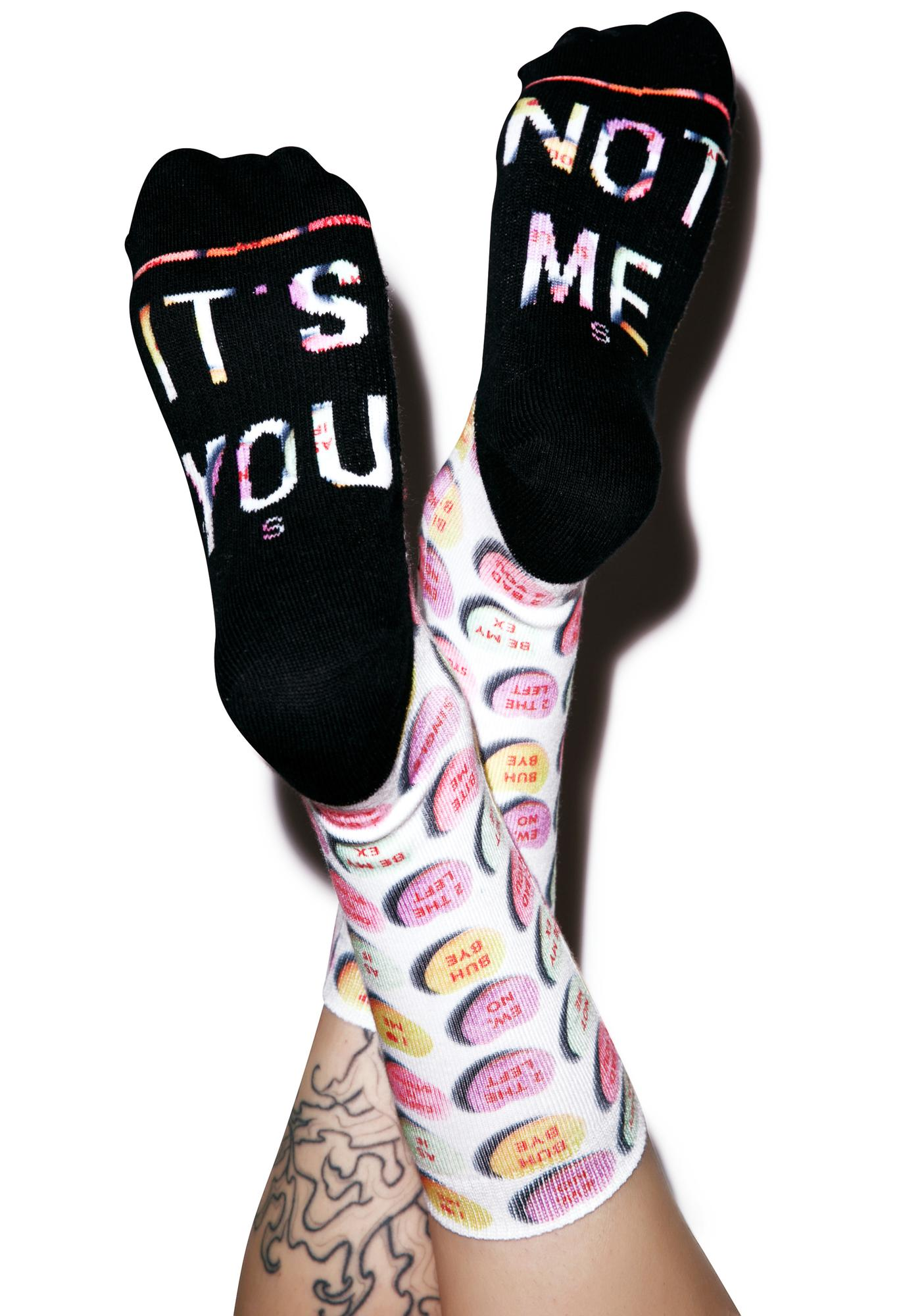 Stance It s You Candy Heart Socks