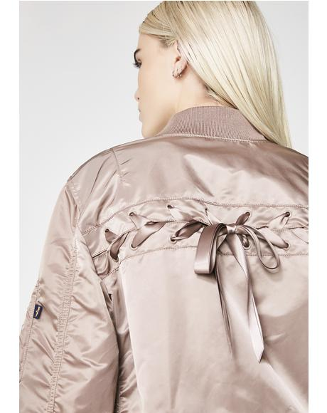 L-2B Laced Flight Jacket