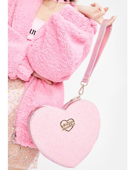 Glitter My Heart Clutch