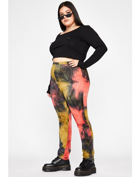 Dank Ultra Toxic Trip Printed Leggings