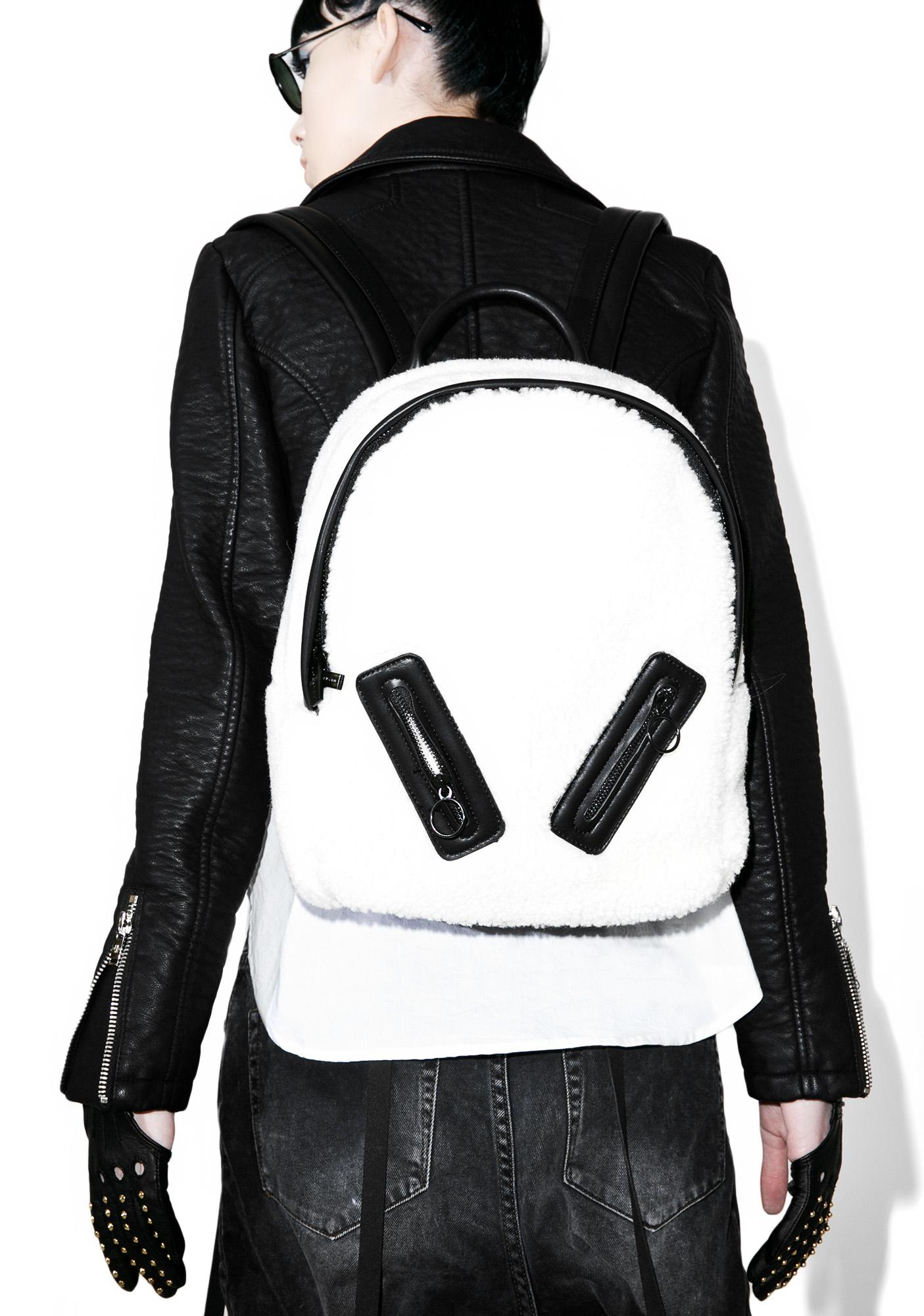 Skinnydip Charlie Shearling Backpack
