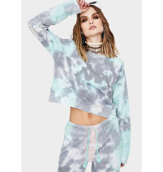 Kappa Authentic Galz Tie Dye Sweatshirt