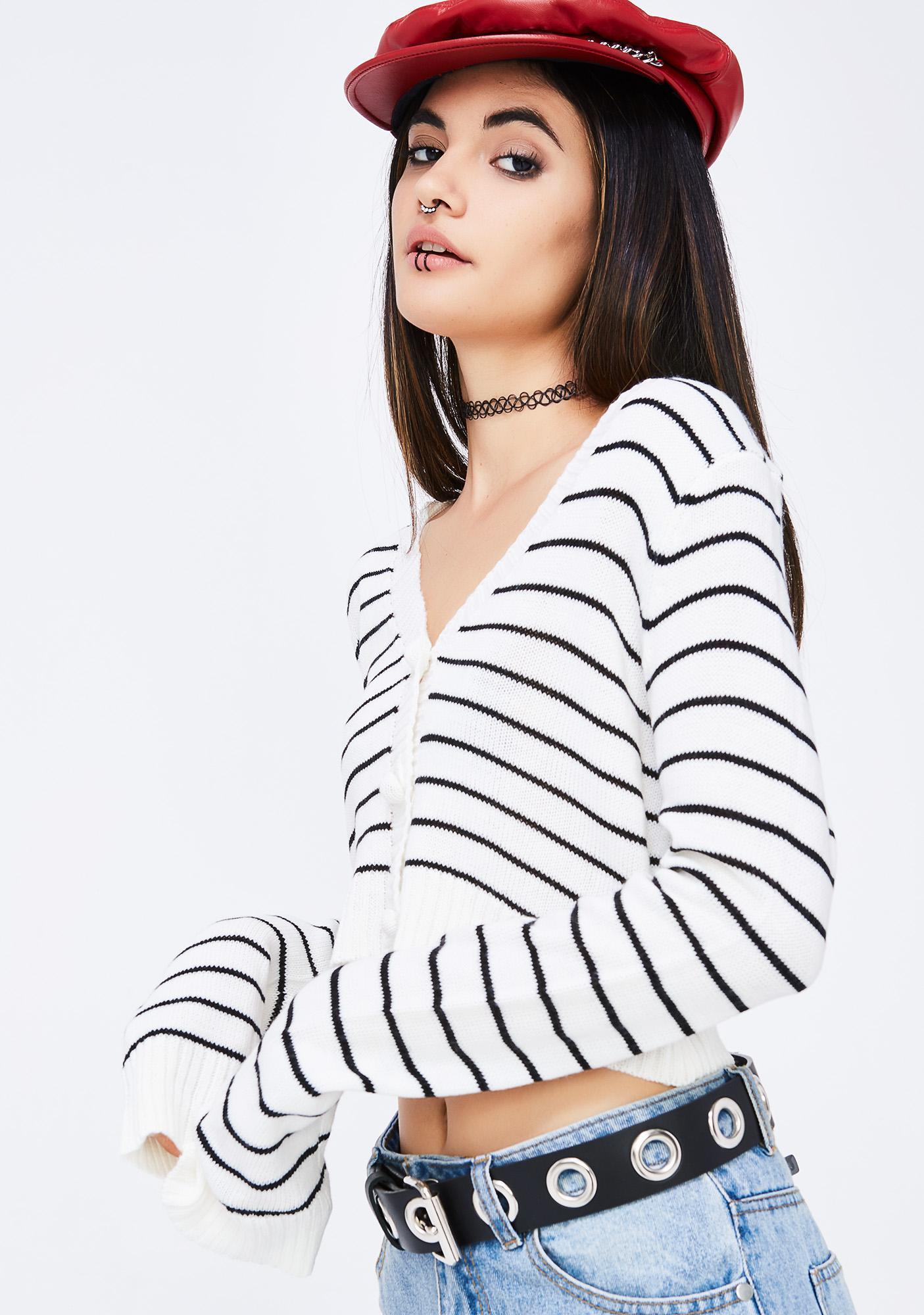 All Aboard Stripe Sweater