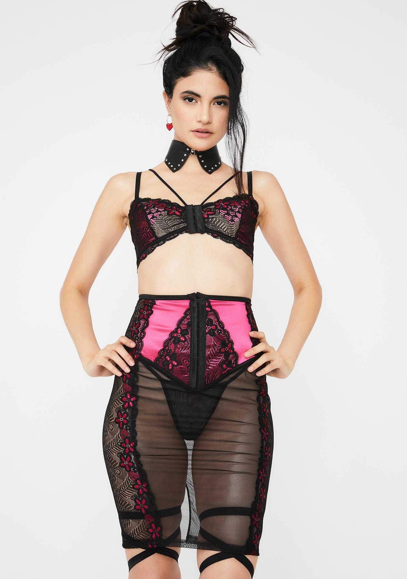 Cute Not Kind Skirt Set