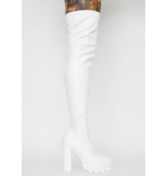 Icy Hey Hottie Thigh High Boots