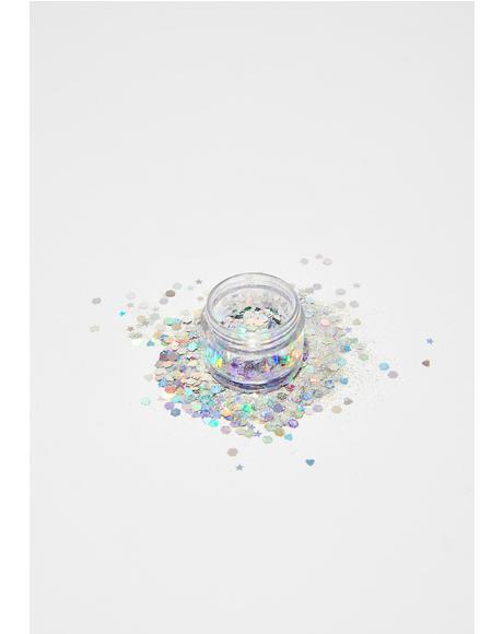 Cosmic Universe Glitter Pot