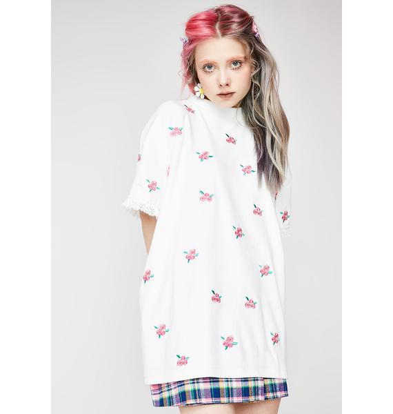 Lazy Oaf Soft Floral Tee