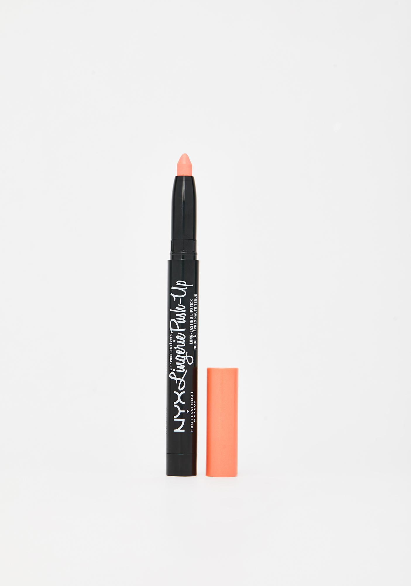 NYX Professional Makeup Baby Pink Lip Lingerie Lipstick