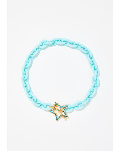 Starry Starlet Chain Choker