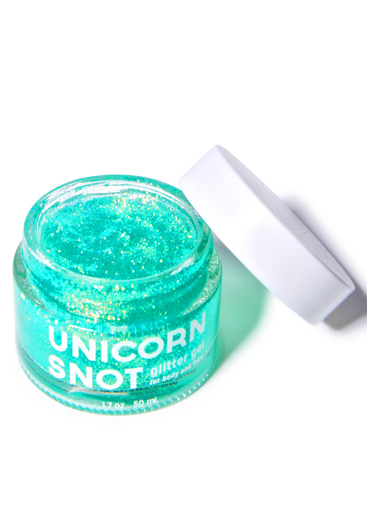 Unicorn Snot Unicorn Snot Blue Glitter Gel